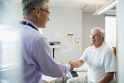 Inova's Spine Program-Doctor and patient discuss surgery options image